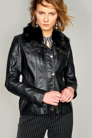 Rebecca Kadın Deri Ceket