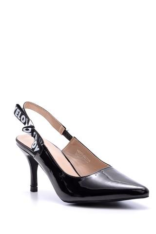 Kadın Love Topuklu Rugan Ayakkabı
