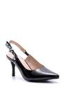 5638022871 Kadın Love Topuklu Rugan Ayakkabı