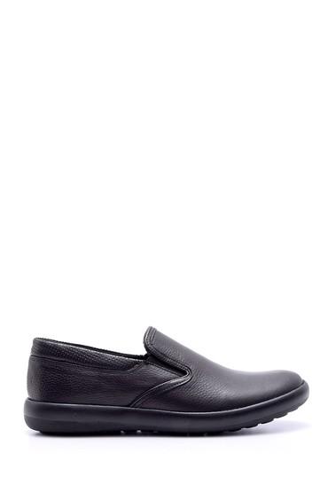 Siyah Erkek Deri Casual Ayakkabı 5638074069