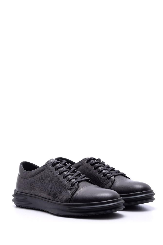 5638074098 Erkek Deri Sneaker