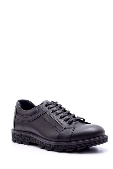 Siyah Erkek Deri Ayakkabı 5638074404