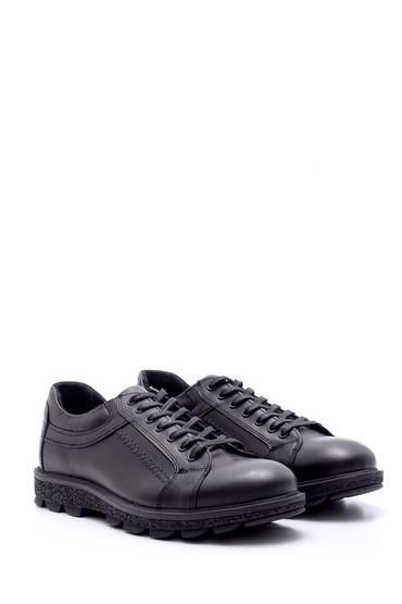 Siyah Erkek Deri Ayakkabı 5638074396