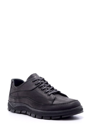 Siyah Erkek Nubuk Deri Ayakkabı 5638074515