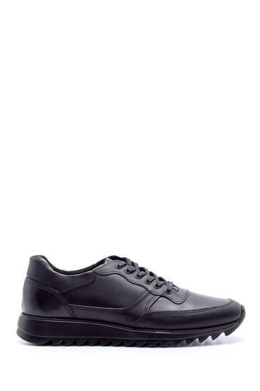 Siyah Erkek Deri Sneaker 5638074538