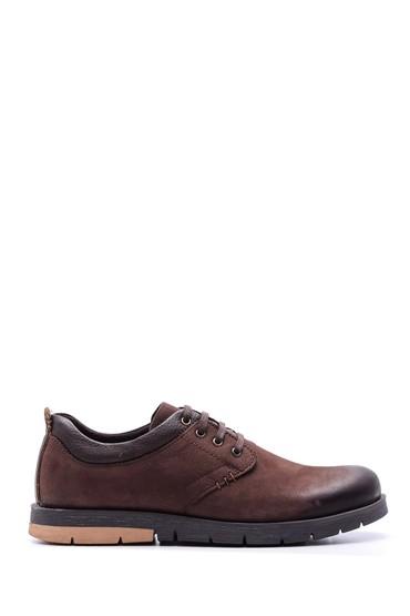 Kahverengi Erkek Nubuk Deri Ayakkabı 5638073910