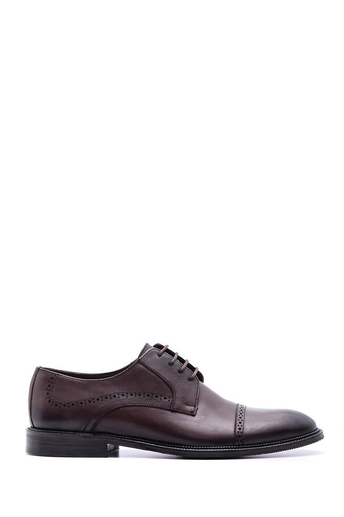 Kahverengi Erkek Deri Klasik Ayakkabı 5638078788