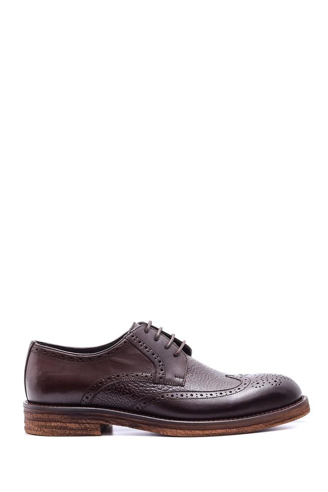 5638078945 Erkek Klasik Deri Ayakkabı