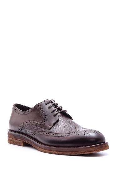 Kahverengi Erkek Klasik Deri Ayakkabı 5638078937