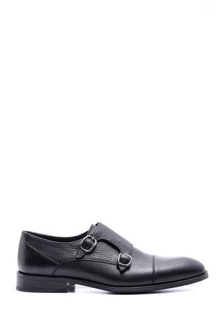 Erkek Klasik Tokalı Deri Ayakkabı