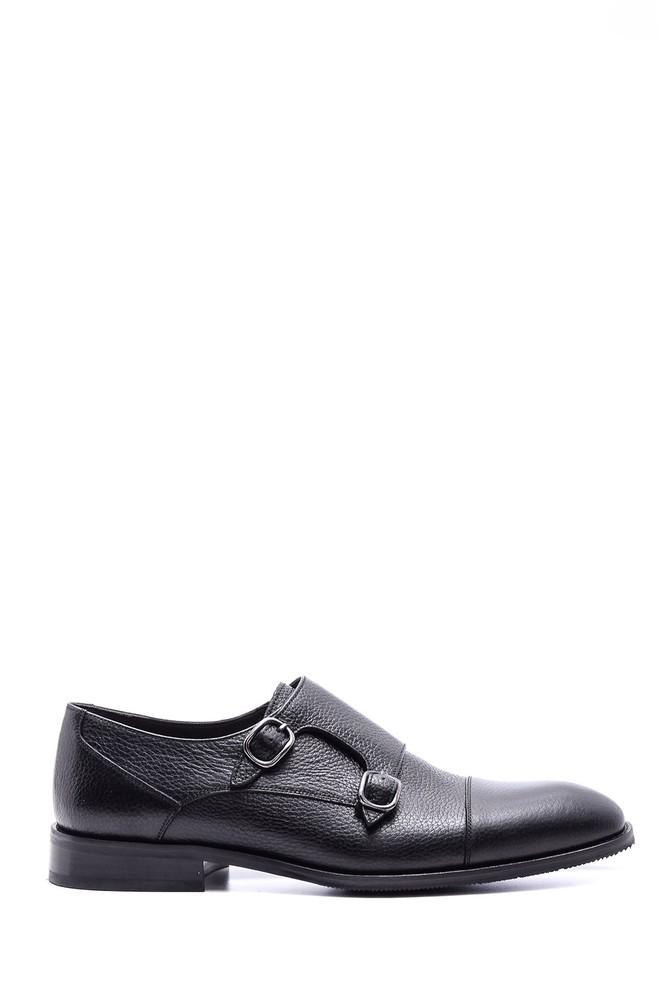 5638078995 Erkek Klasik Tokalı Deri Ayakkabı