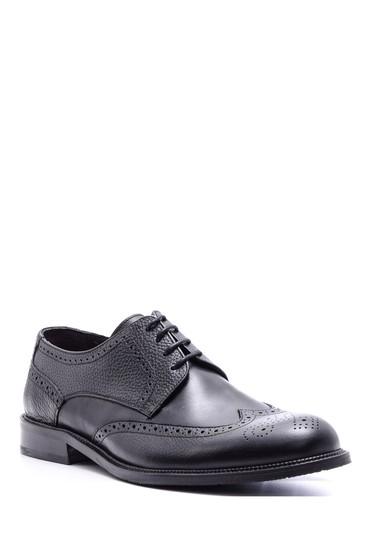 Siyah Erkek Klasik Deri Ayakkabı 5638080061
