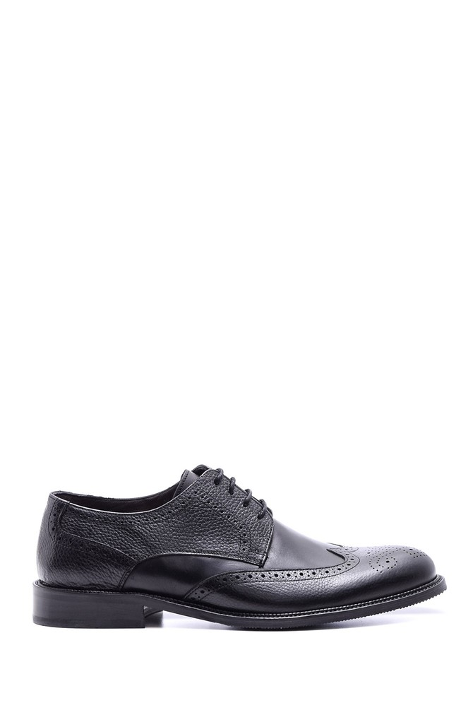 5638080081 Erkek Klasik Deri Ayakkabı