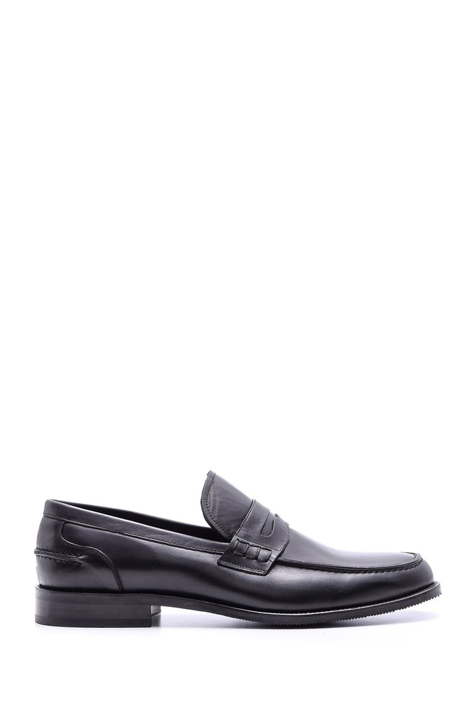 Siyah Erkek Klasik Deri Ayakkabı 5638080169