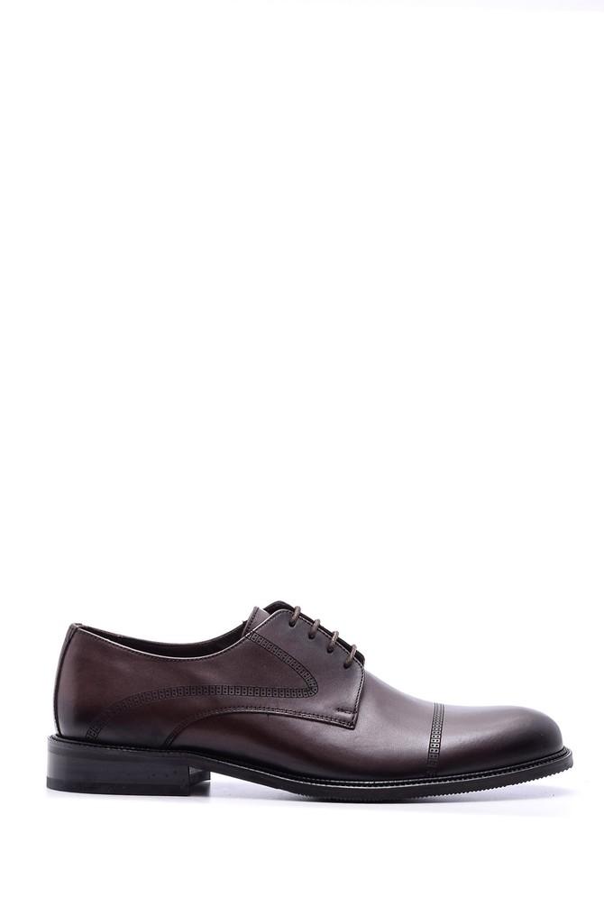 Kahverengi Erkek Klasik Deri Ayakkabı 5638080268