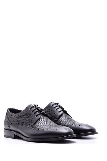 Siyah Erkek Klasik Deri Ayakkabı 5638080293