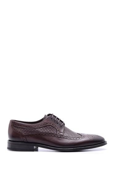 Kahverengi Erkek Klasik Deri Ayakkabı 5638080295