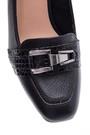 5638066132 Kadın Kroko Detaylı Deri Topuklu Ayakkabı
