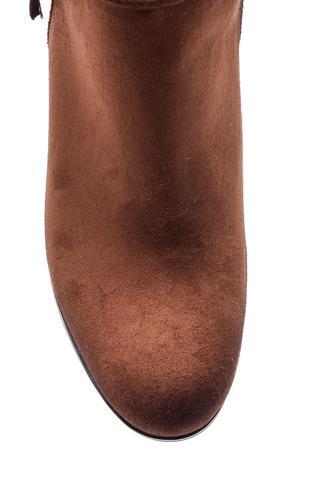 Kadın Süet Topuklu Bot