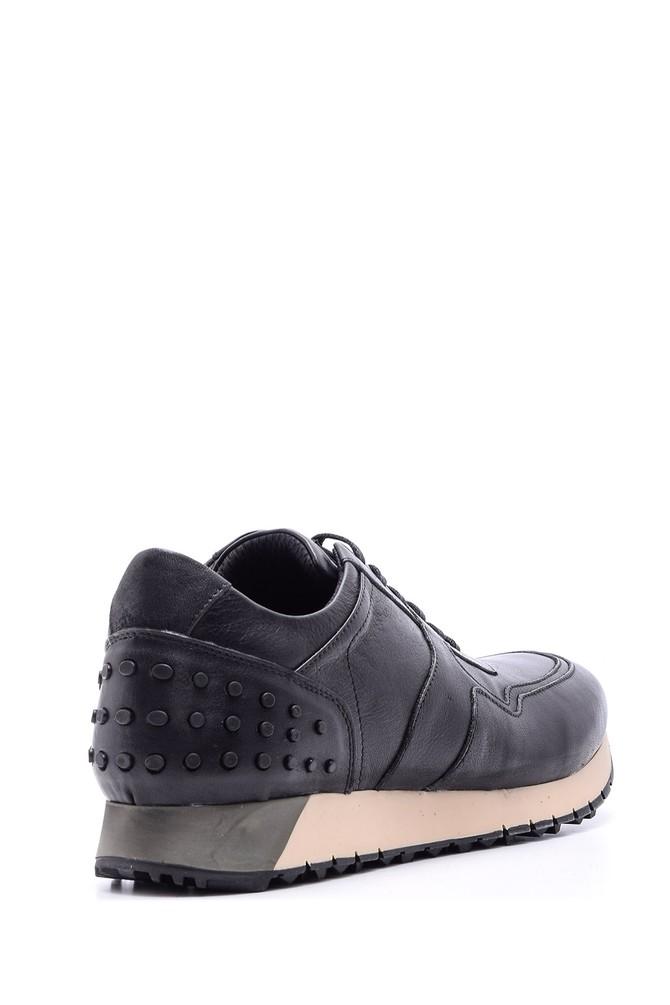 5638089048 Erkek Deri Sneaker