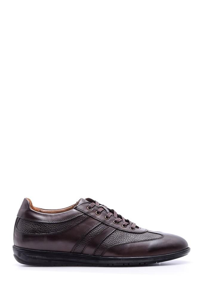 Kahverengi Erkek Deri Ayakkabı 5638089071