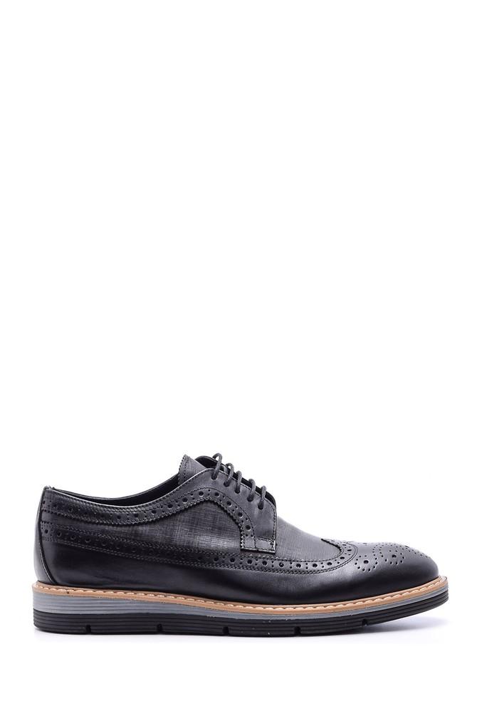 Siyah Erkek Klasik Deri Ayakkabı 5638089701