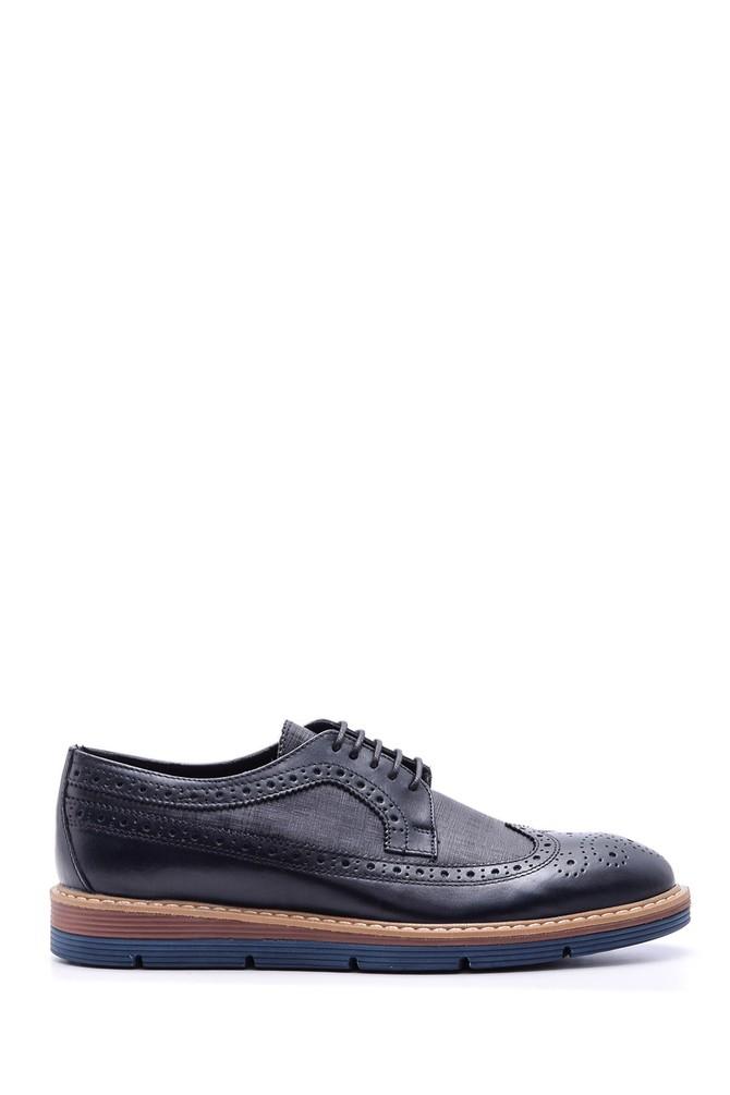 Lacivert Erkek Klasik Deri Ayakkabı 5638089703