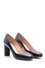 5638080412 Kadın Topuklu Deri Ayakkabı