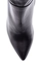 5638085321 Kadın Topuklu Deri Çizme