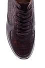 5638089736 Erkek Kroko Desenli Sneaker