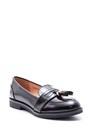 5638081995 Kadın Püskül Detaylı Rugan Ayakkabı