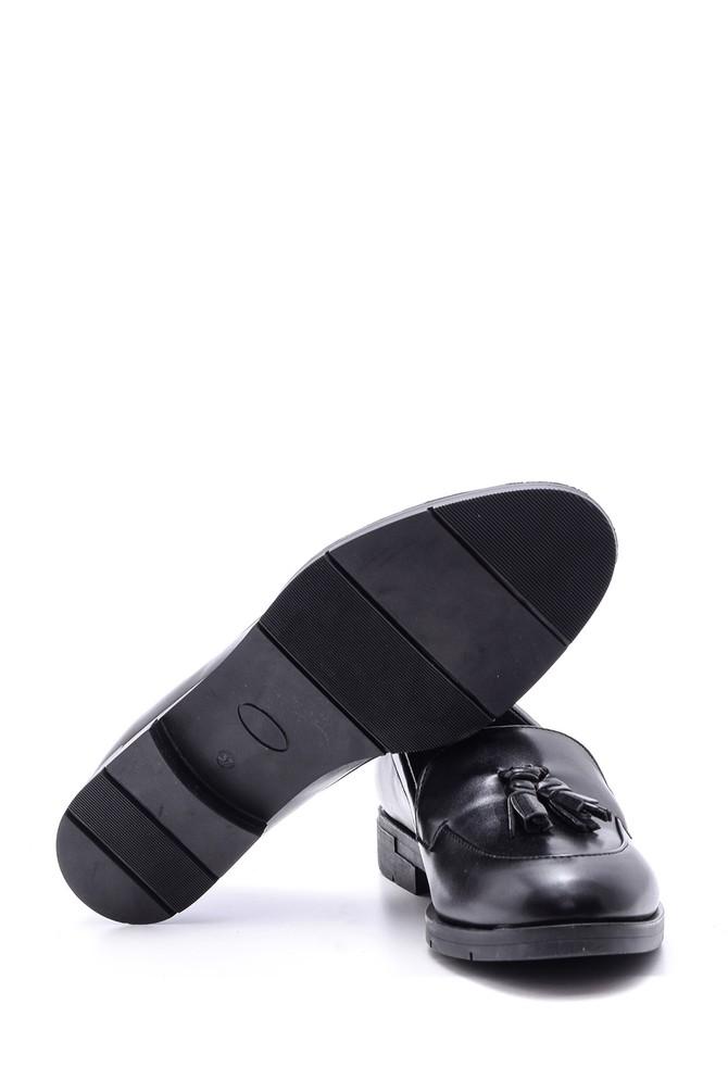 5638082009 Kadın Püskül Detaylı Ayakkabı