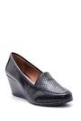 5638082863 Kadın Yılan Derisi Desenli Dolgu Topuklu Ayakkabı