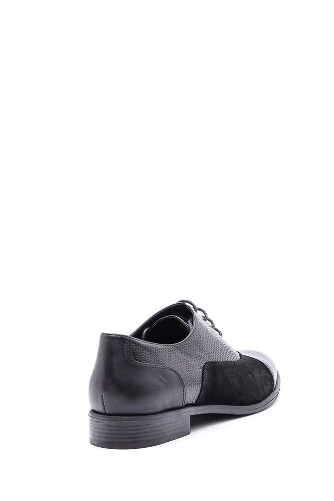 5638092703 Kadın Kroko Detaylı Ayakkabı