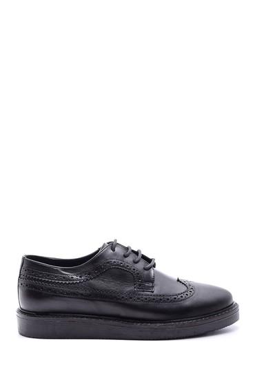 5638092728 Kadın Klasik Deri Ayakkabı