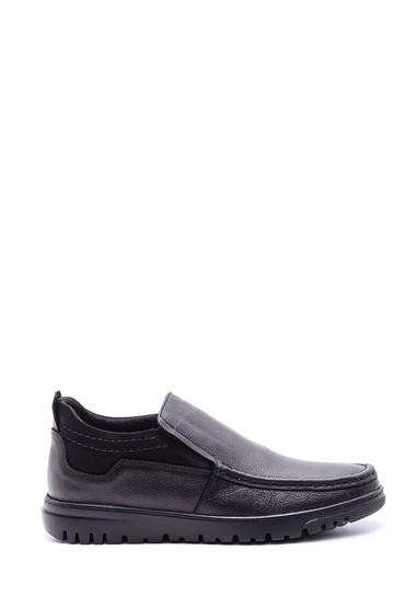 Siyah Erkek Deri Ayakkabı 5638095871