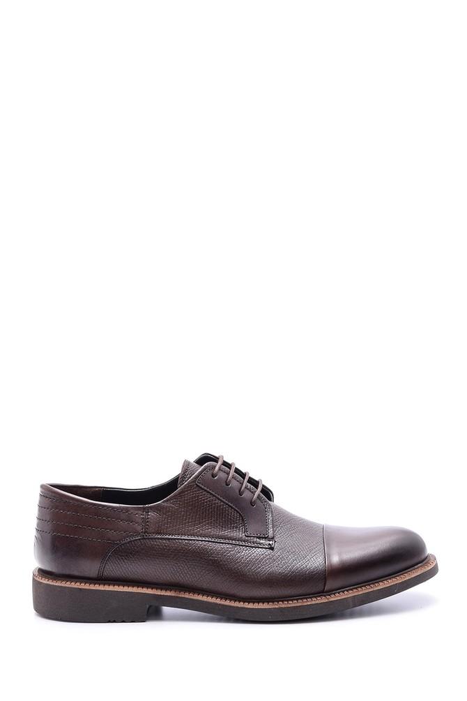 Kahverengi Erkek Deri Klasik Ayakkabı 5638086073