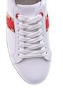 5638093946 Kadın Leopar Detaylı Deri Sneaker