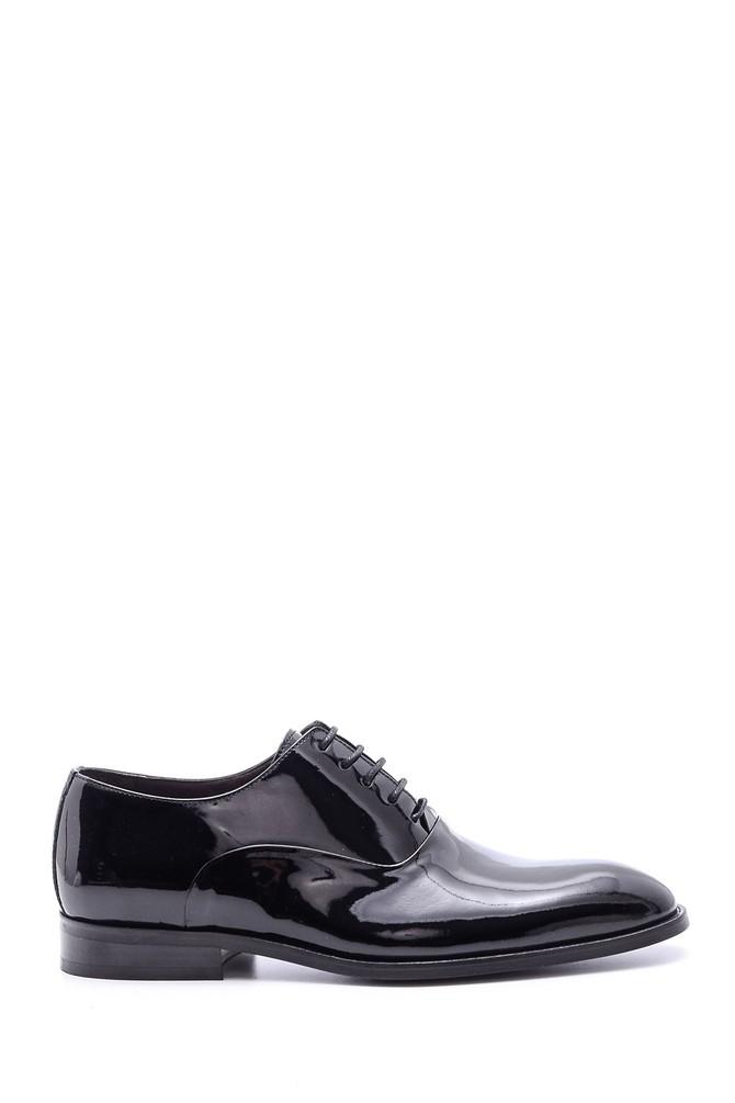 Siyah Erkek Rugan Deri Ayakkabı 5638078769