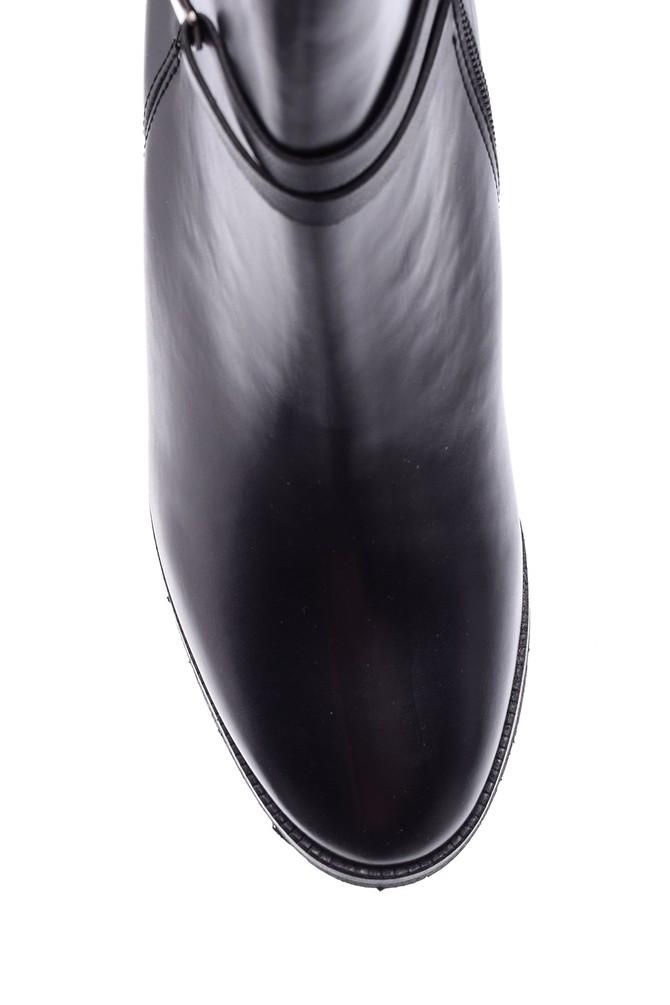 5638067885 Kadın Toka Detaylı Topuklu Bot