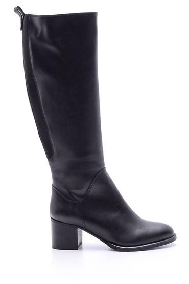 Siyah Kadın Topuklu Çizme 5638067932