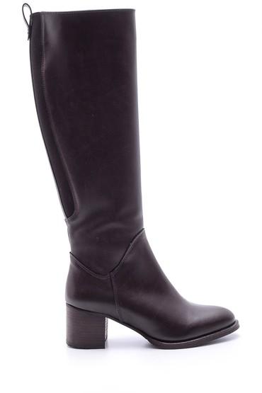 Kahverengi Kadın Topuklu Çizme 5638067930