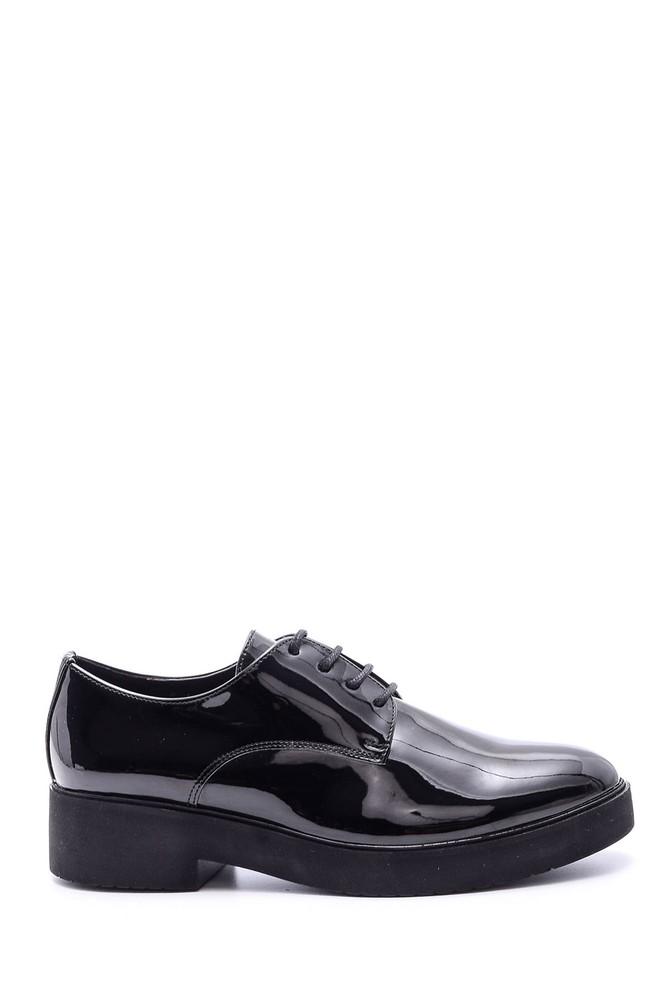 5638086188 Kadın Rugan Ayakkabı