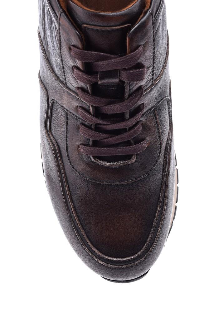 5638089049 Erkek Deri Sneaker