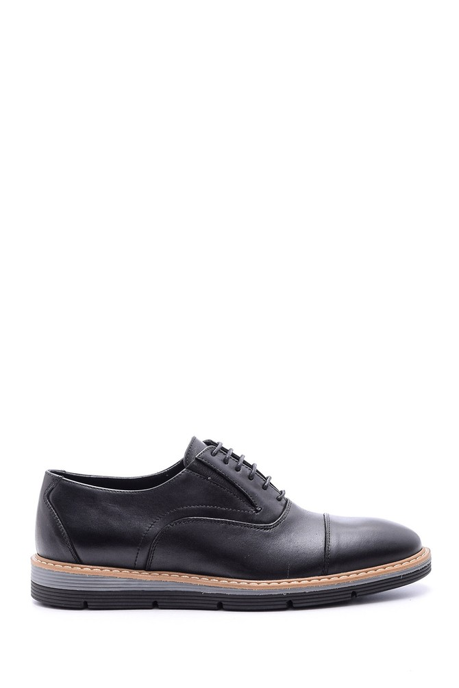 5638089676 Erkek Bağcıklı Deri Ayakkabı