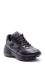 5638084106 Kadın Yüksek Tabanlı Deri Sneaker