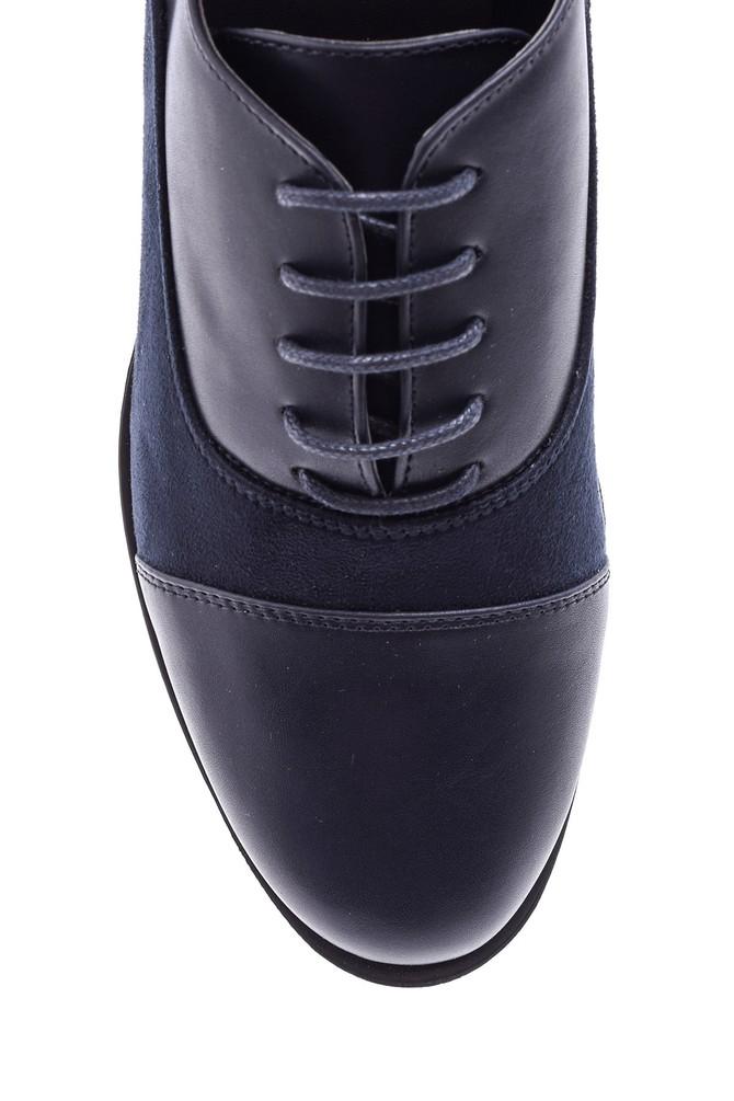 5638082882 Kadın Süet Detaylı Ayakkabı
