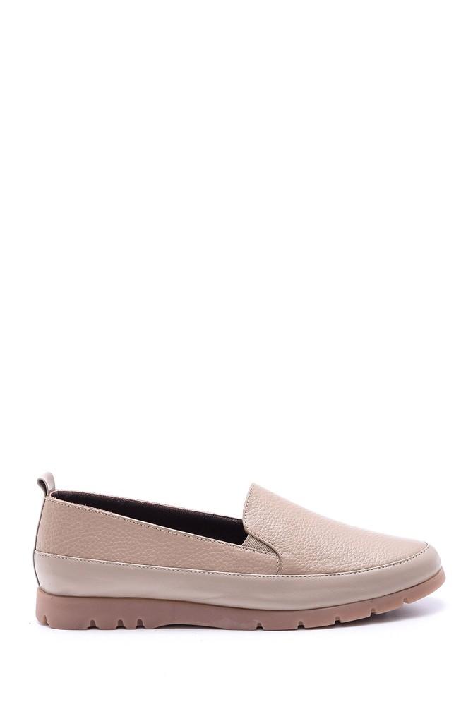 Kahverengi Kadın Deri Ayakkabı 5638088736