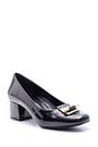 5638093718 Kadın Rugan Topuklu Ayakkabı