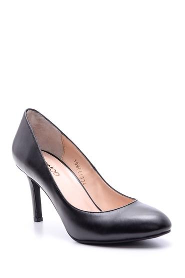 Siyah Kadın Topuklu Ayakkabı 5638093725